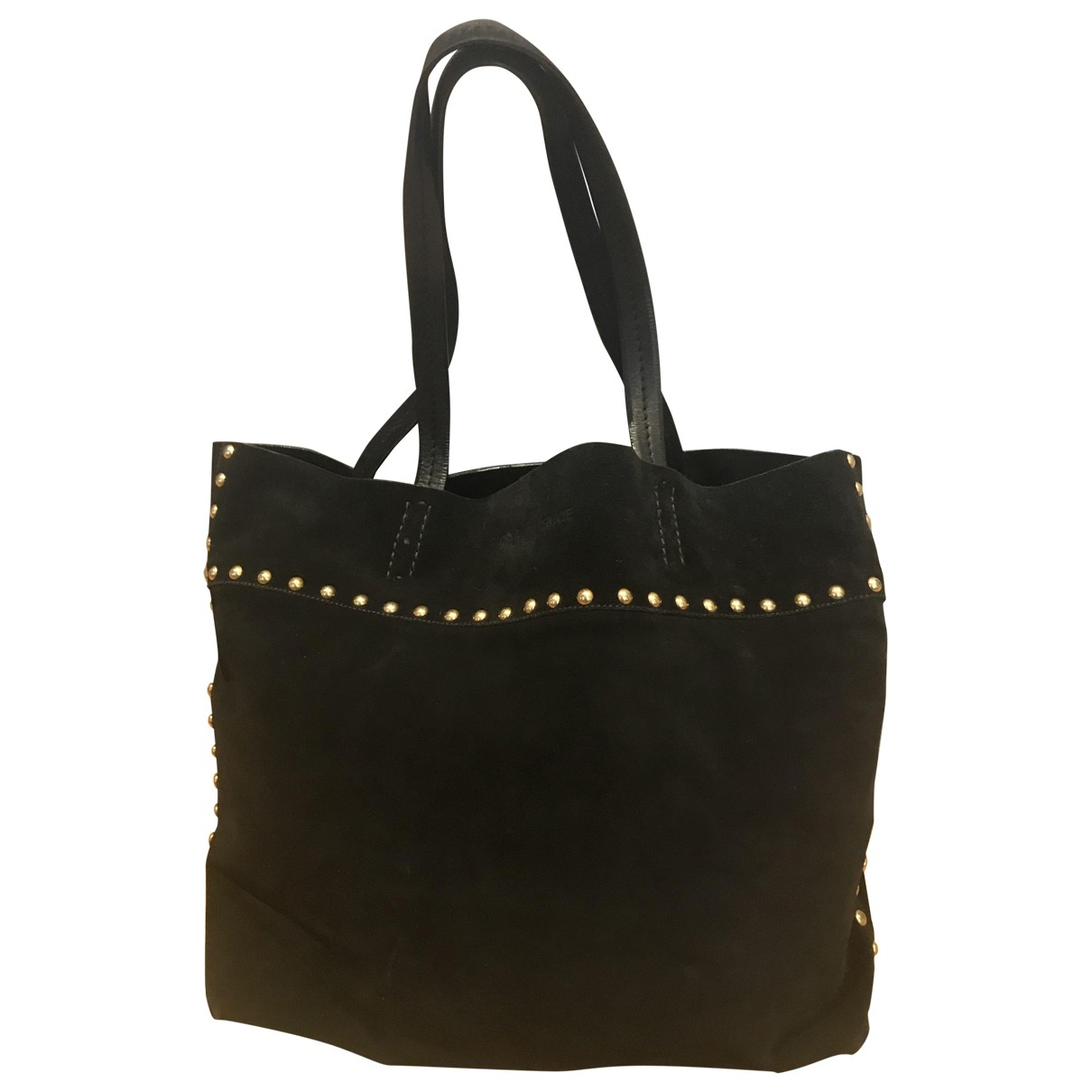 Carshoe \N Black Suede handbag for Women \N