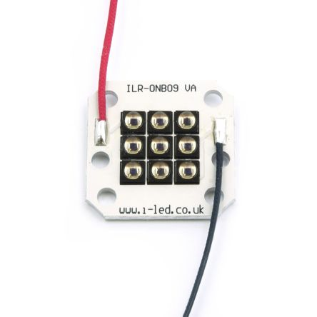 Intelligent LED Solutions ILR-IN09-85SL-SC211-WIR200. ILS, OSLON Black 9 PowerCluster IR 850nm IR LED, SMD package