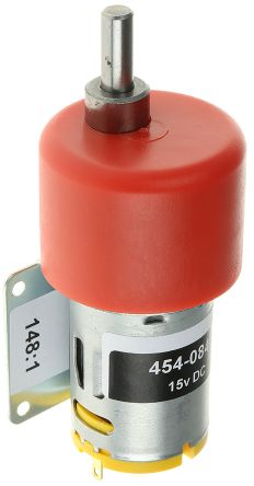 RS PRO , 12 V dc, 59 Ncm, Brushed DC Geared Motor, Output Speed 67 rpm