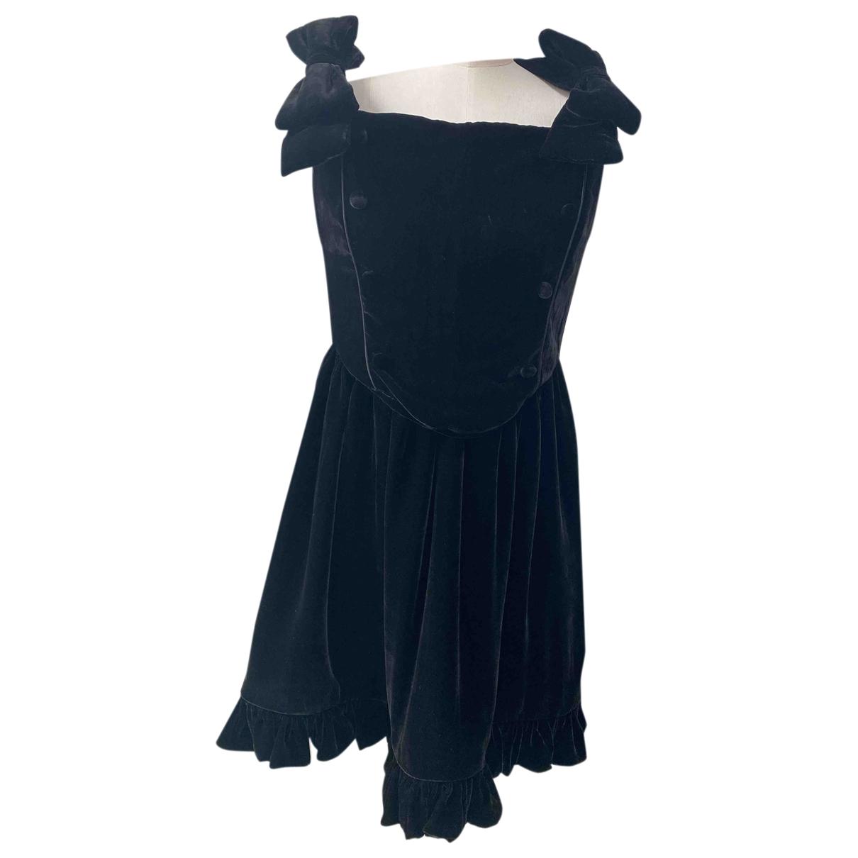 Vivetta \N Black Velvet dress for Women 42 IT