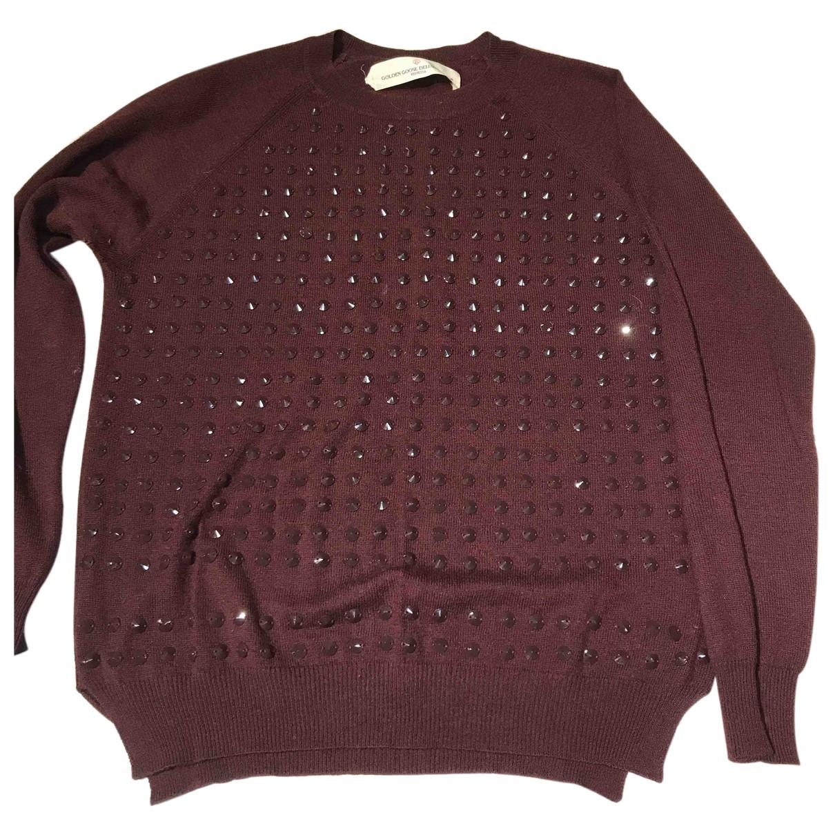 Golden Goose N Burgundy Wool Knitwear for Women M International