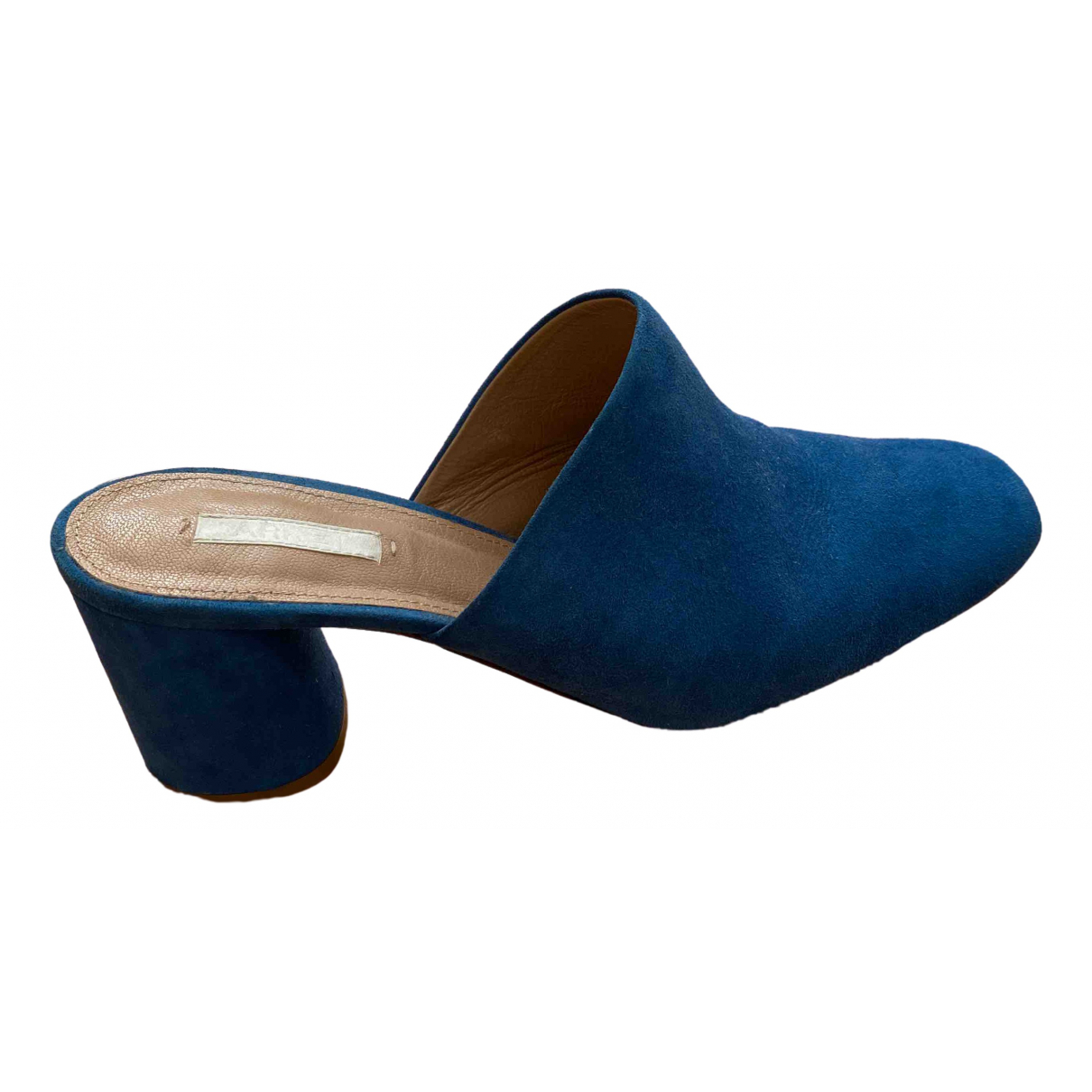Arket \N Blue Suede Heels for Women 39 EU