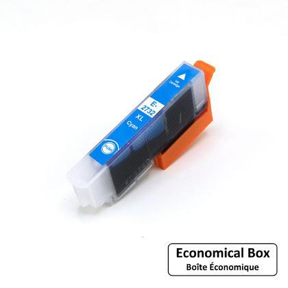 Epson 273 T273XL220 Compatible Cyan Ink Cartridge High Yield - Economical Box