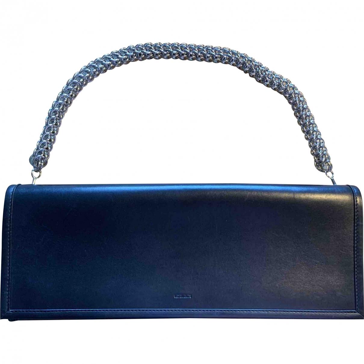 Vetements \N Black Leather Clutch bag for Women \N