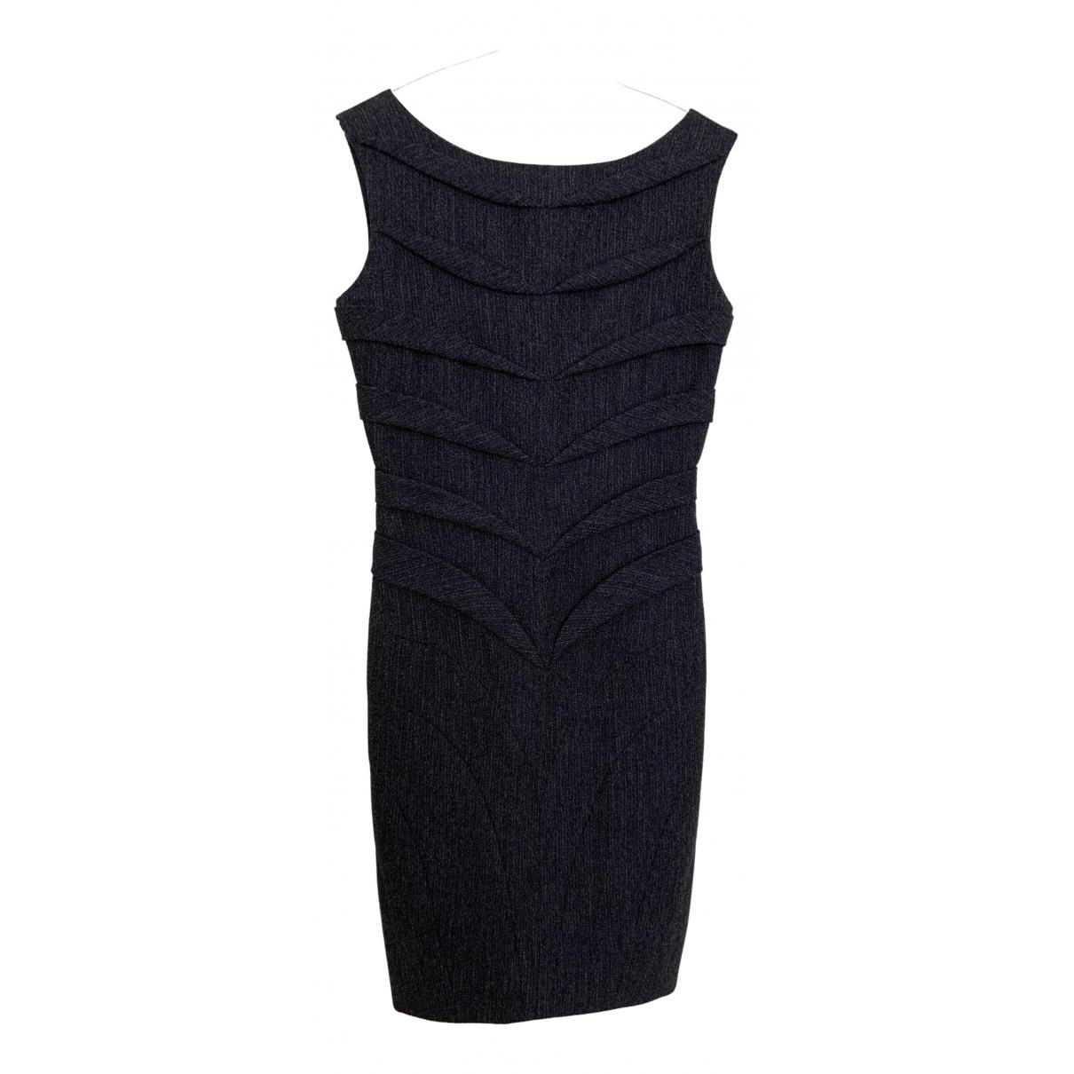 Jil Sander \N Kleid in  Anthrazit Wolle