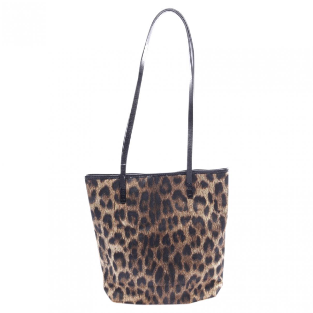 Moschino N Brown Cloth handbag for Women N