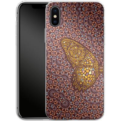 Apple iPhone X Silikon Handyhuelle - Metamorphosis von Daniel Martin Diaz