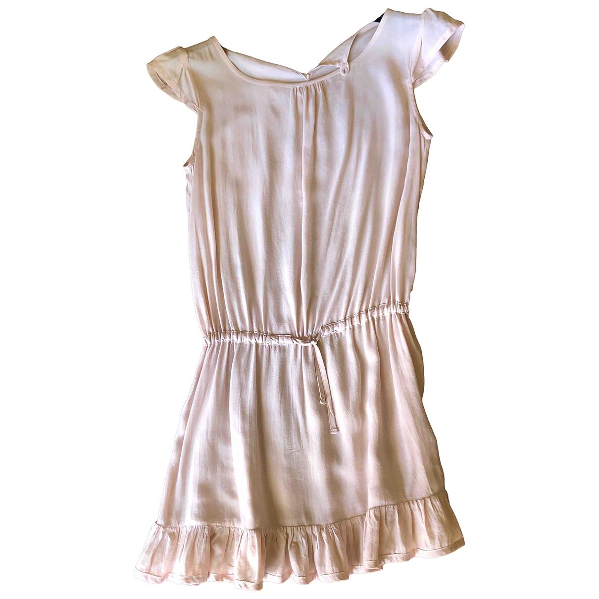 Woolrich \N Kleid in  Rosa Seide