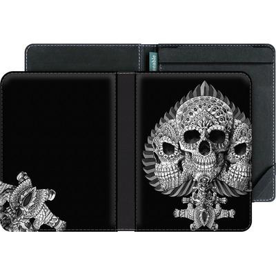 tolino vision 4 HD eBook Reader Huelle - Skull Spade von BIOWORKZ