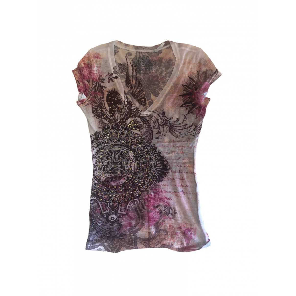 Guess \N Multicolour Cotton  top for Women XS International