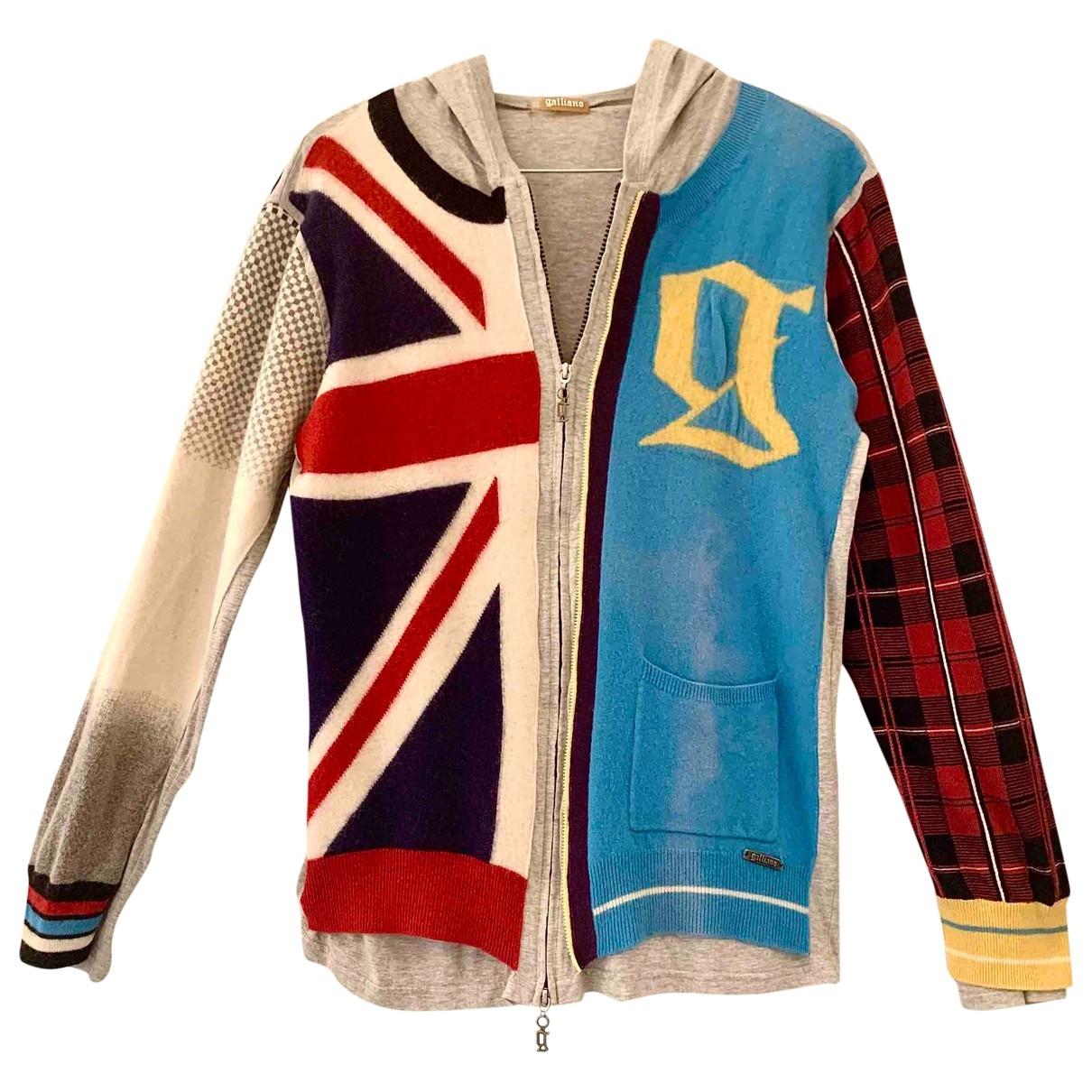 Galliano - Pulls.Gilets.Sweats   pour homme en coton - multicolore