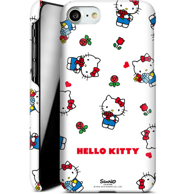 Apple iPhone 7 Smartphone Huelle - Hello Kitty Flower Pattern von Hello Kitty