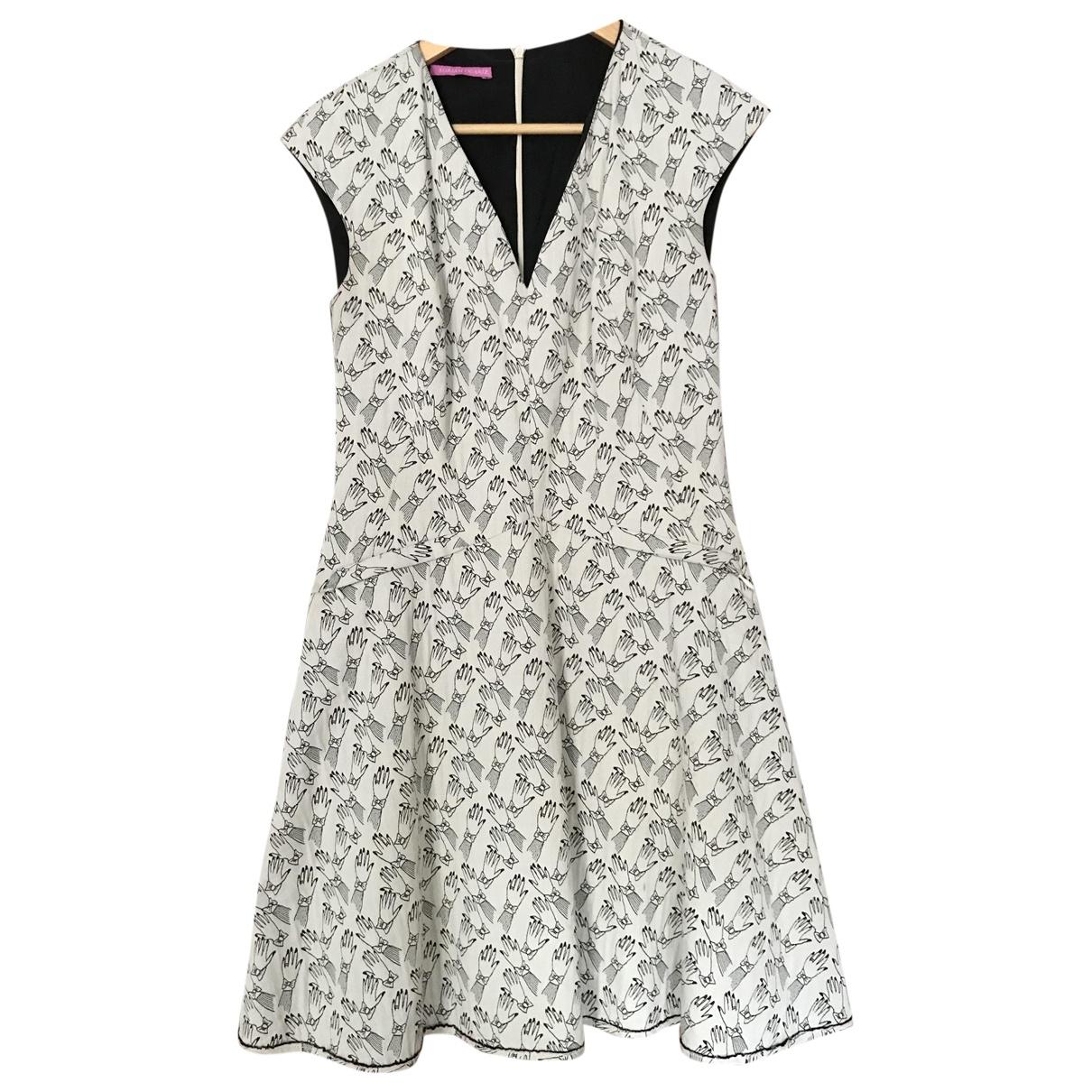 Miriam Ocariz - Robe   pour femme en coton - blanc