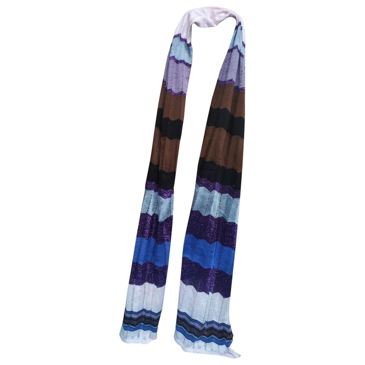 Missoni - Foulard   pour femme - violet