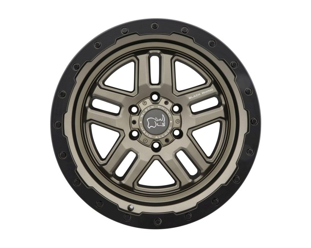 Black Rhino Barstow Matte Bronze w/ Matte Black Lip Ring Wheel 18x9.5 6x139.70|6x5.5 -18mm CB112