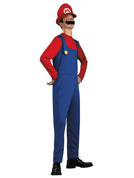 Milanoo Disfraz Halloween Super Mario Halloween disfraz para adulto Halloween