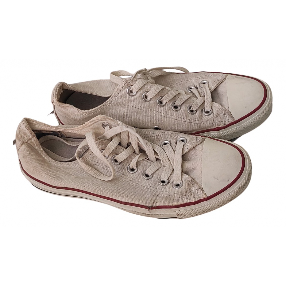 Converse \N Sneakers in  Weiss Kautschuk