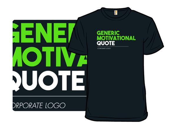 Generic Shirt Title T Shirt
