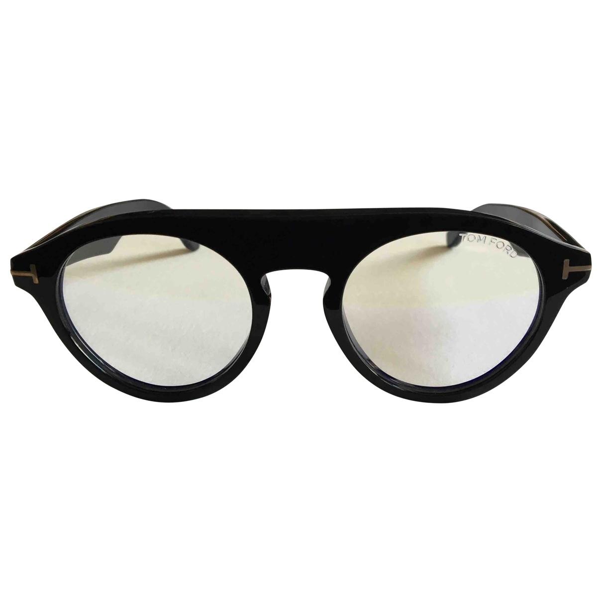 Tom Ford \N Sonnenbrillen in  Schwarz Kunststoff