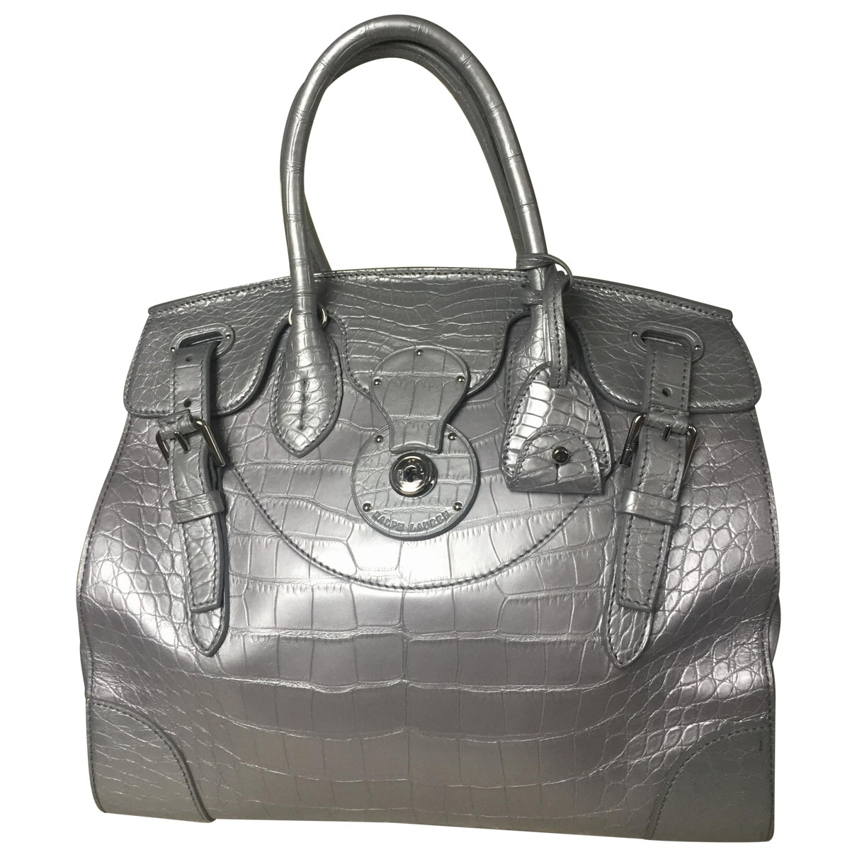 Ralph Lauren Collection \N Silver Alligator handbag for Women \N