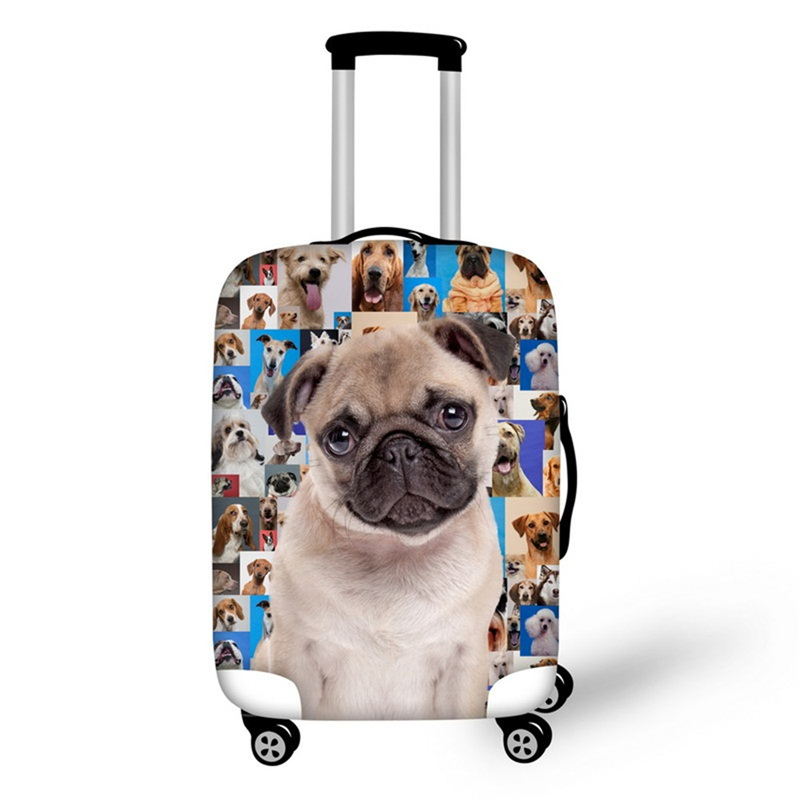 3D Animals Photos Pattern Waterproof Suitcase Protector 19 20 21