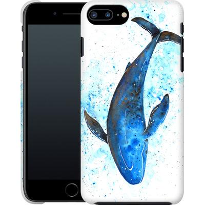 Apple iPhone 7 Plus Smartphone Huelle - Whale Dive von Becky Starsmore