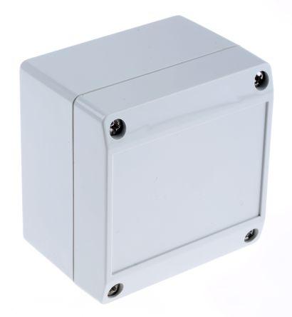ROLEC Technobox, Grey ABS Enclosure, IP66, 83 x 81 x 60mm