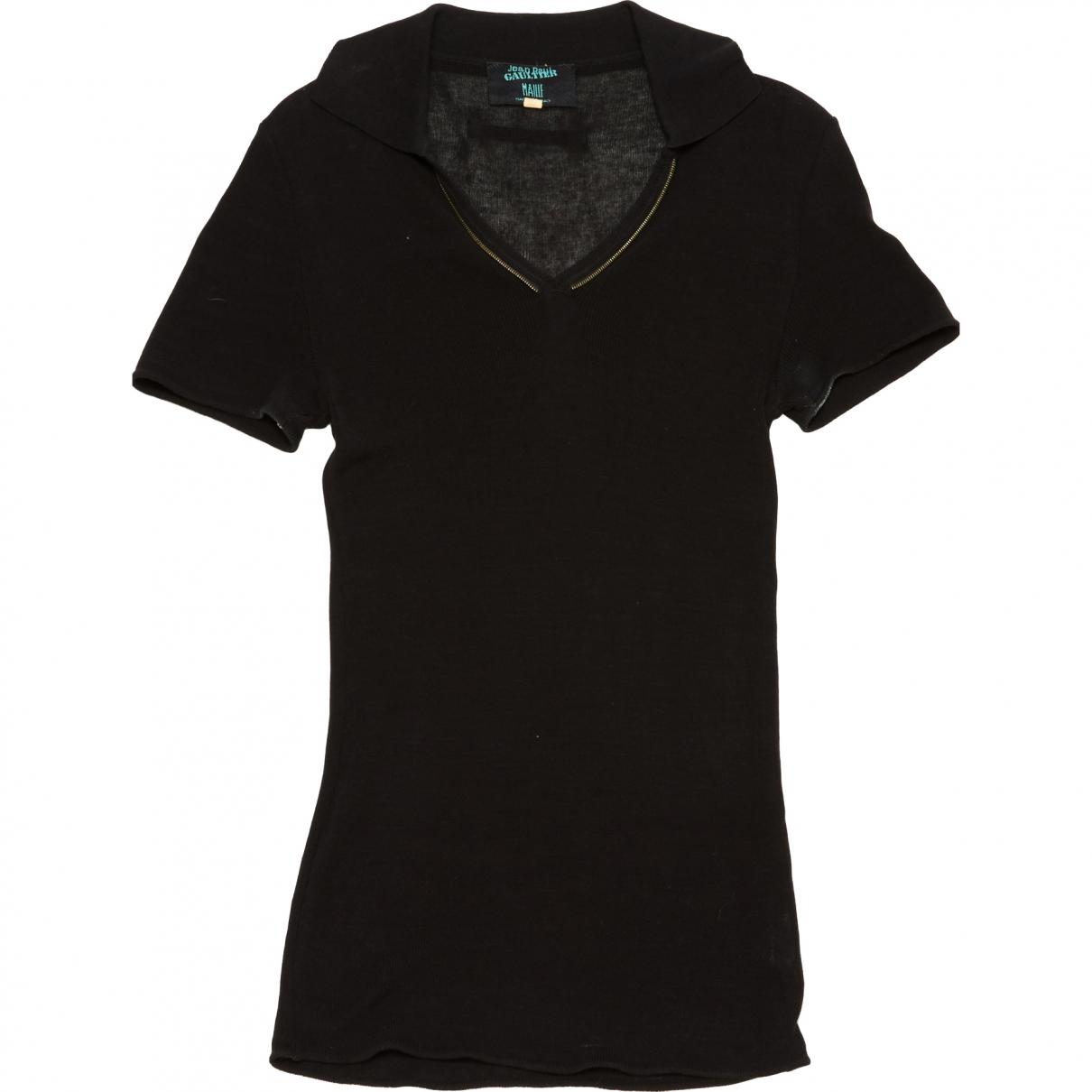 Jean Paul Gaultier - Polos   pour homme en coton - noir