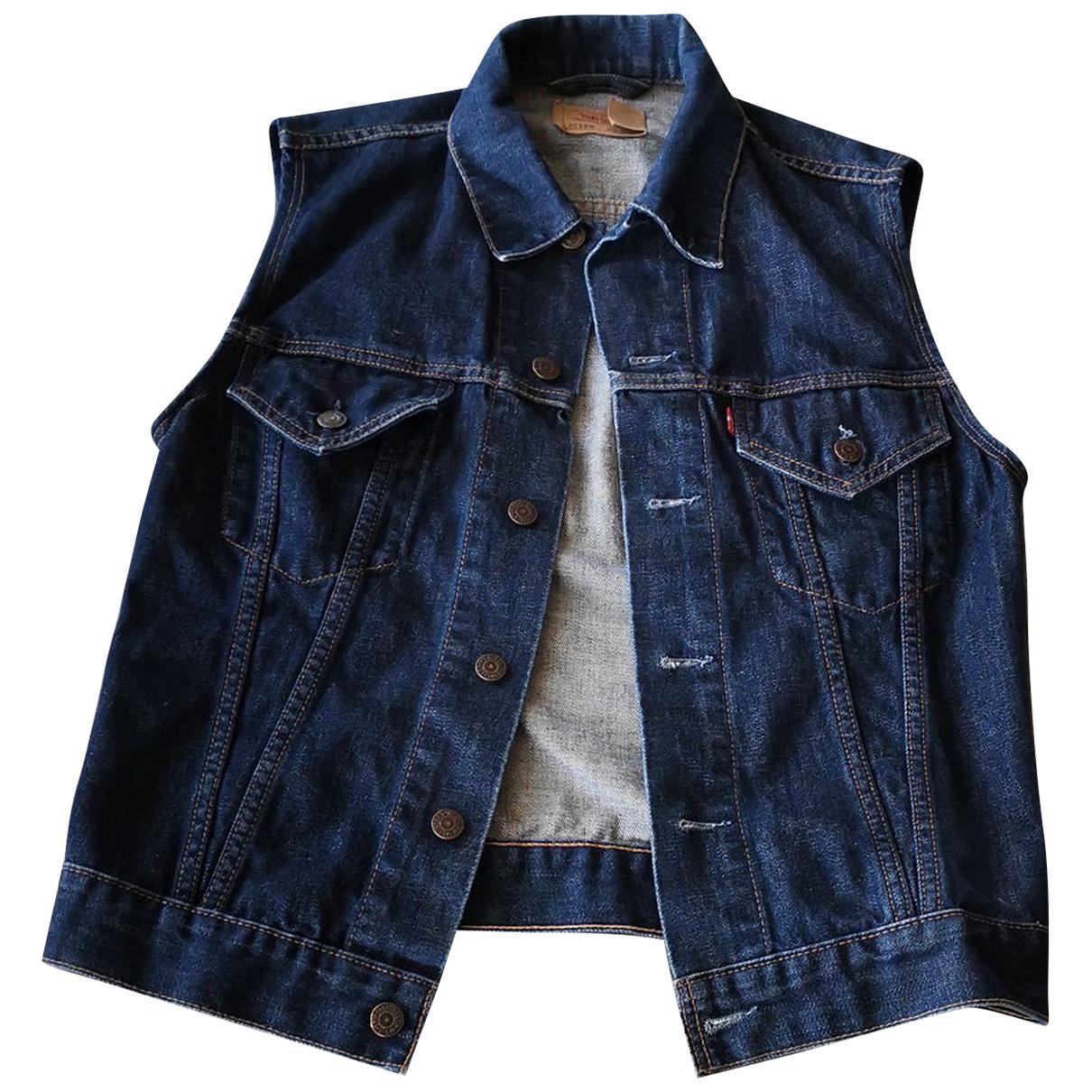 Levis \N Jacke in  Blau Denim - Jeans