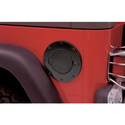 Smittybilt Gas Hatch (Black Aluminum) - 75006