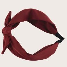 Plain Bow Tie Headband 1pc