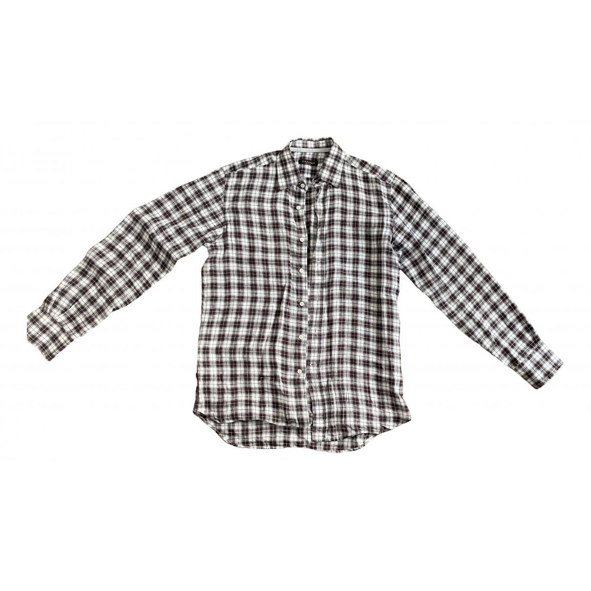Canali - Chemises   pour homme en lin