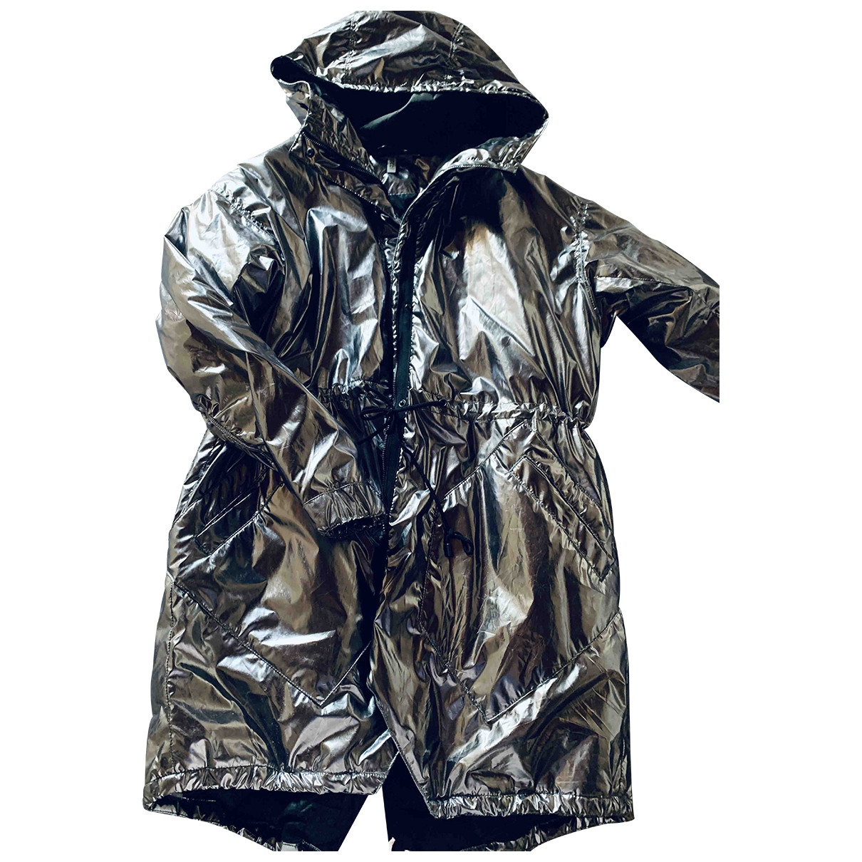 Hm Conscious Exclusive \N Silver jacket for Women 44 IT