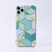 1 Stueck iPhone Huelle mit geometrischem Muster