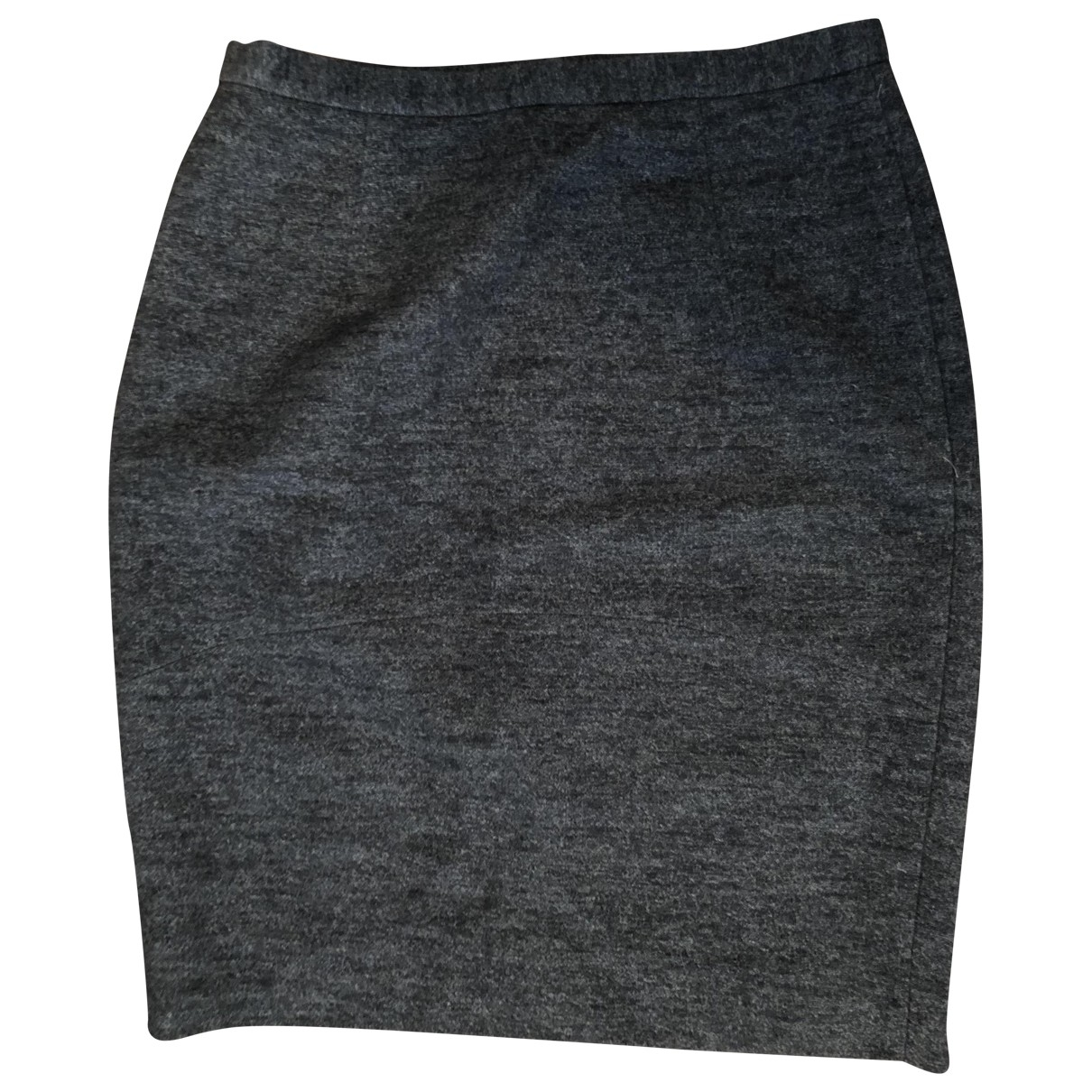 Pablo - Jupe   pour femme en laine - gris