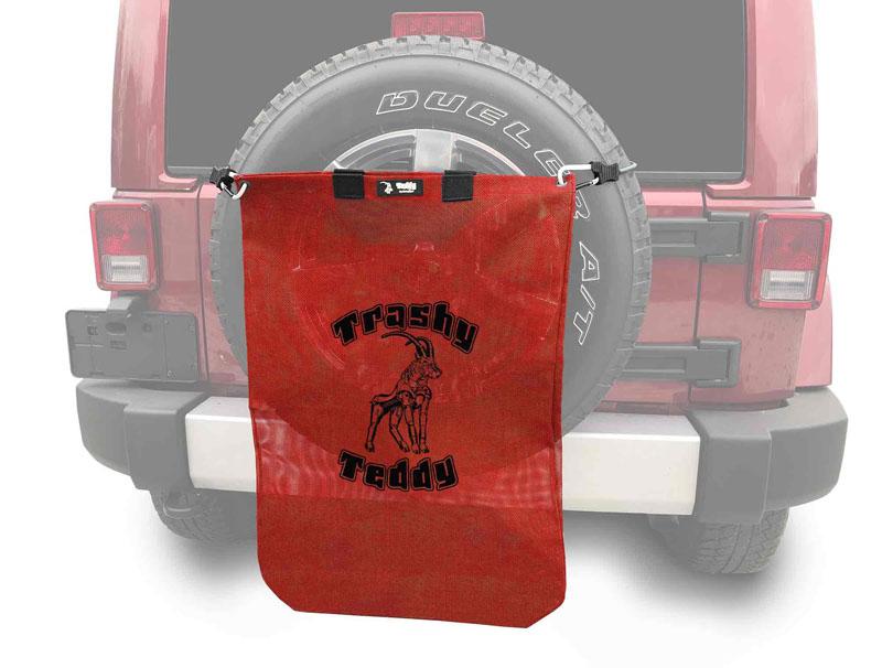 Steinjager J0047827 Trashy Teddy Wrangler TJ 1997-2006 Red