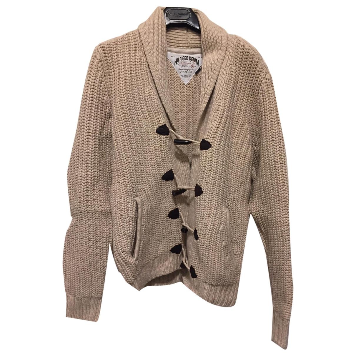 Tommy Hilfiger \N Pullover.Westen.Sweatshirts  in  Beige Baumwolle