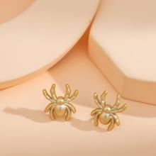 2 Stuecke Brosche mit Spinne Design