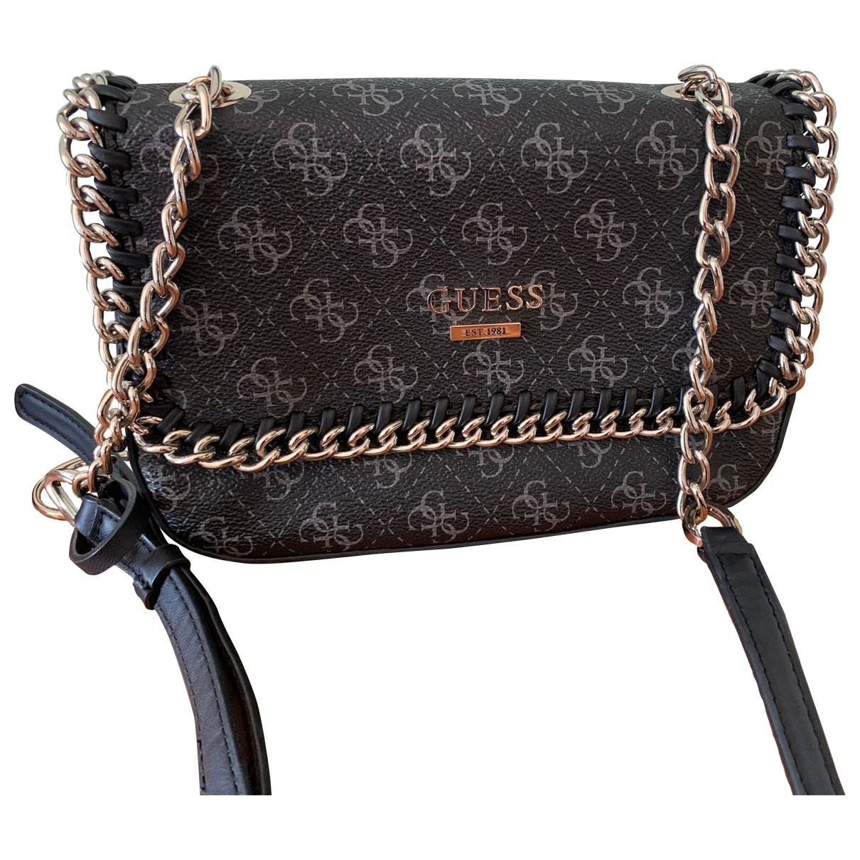 Guess \N Black Clutch bag for Women \N