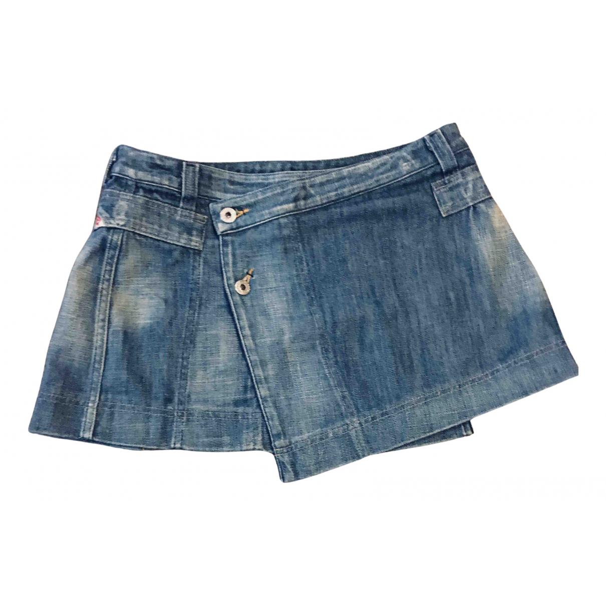 Diesel \N Rocke in  Blau Denim - Jeans