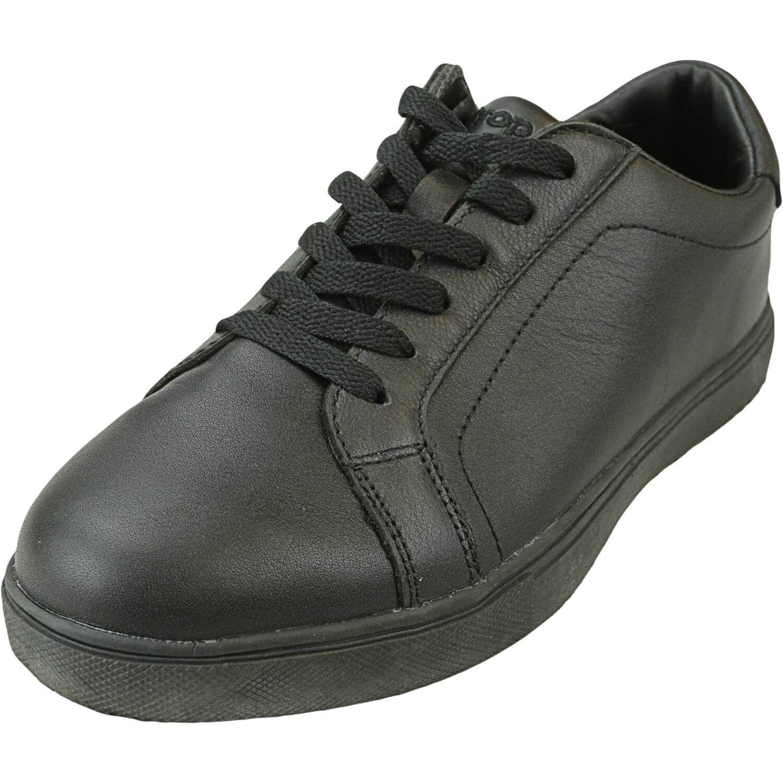 Propet Women's Nixie Black Ankle-High Leather Sneaker - 7W