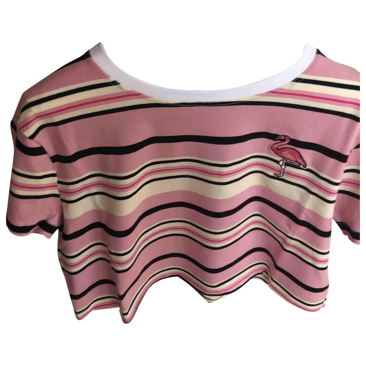 Red Valentino Garavani \N Pink Cotton dress for Women 44 IT