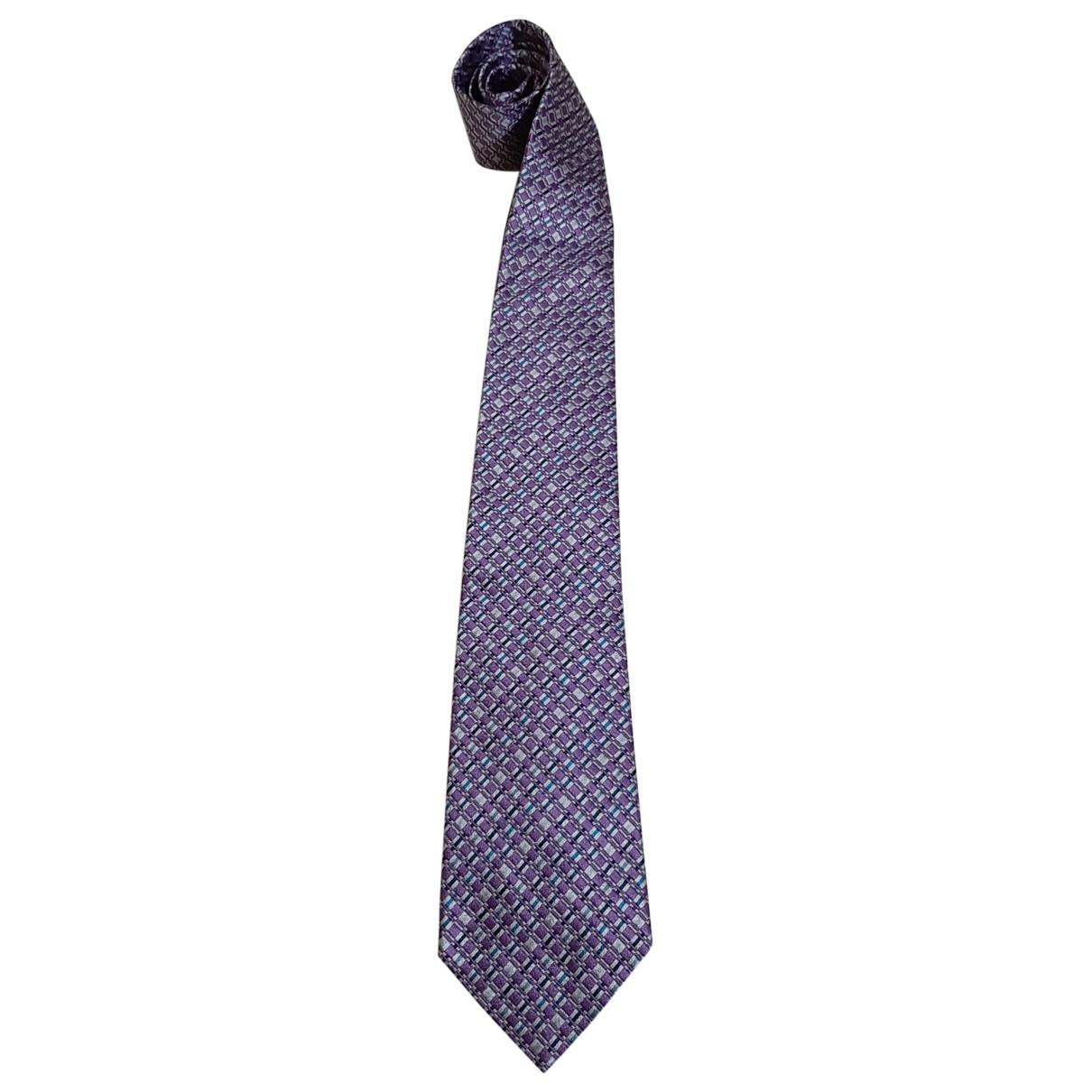 Missoni \N Krawatten in  Rosa Seide