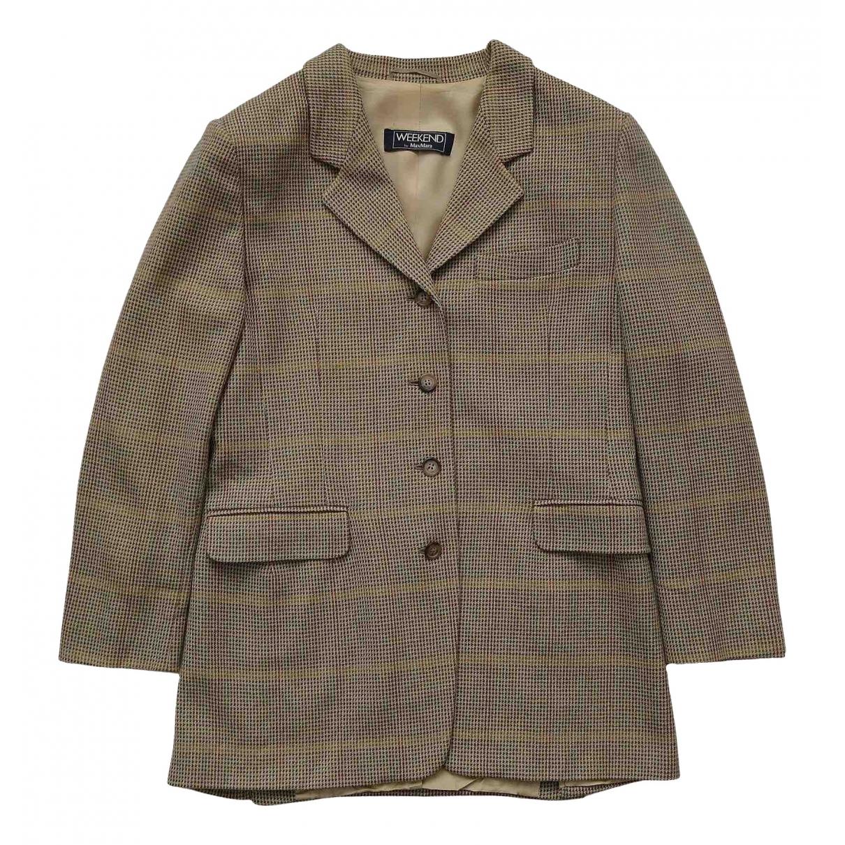 Max Mara Weekend N Multicolour Wool jacket for Women 14 UK