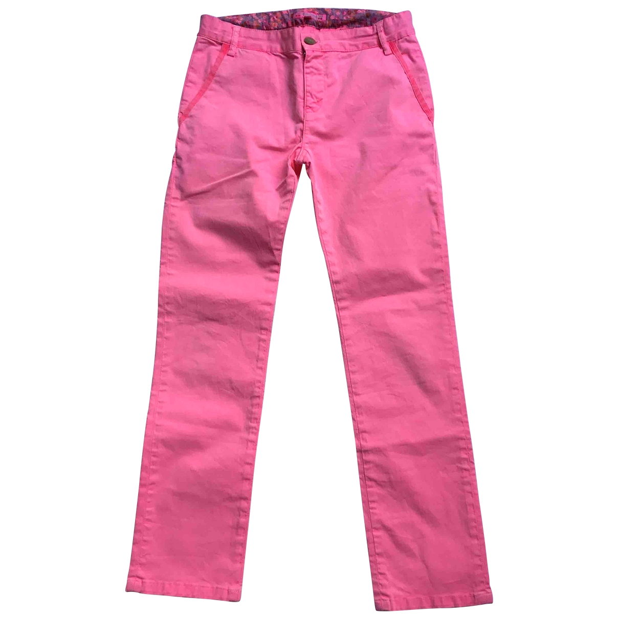 Bonpoint \N Pink Cotton Trousers for Kids 12 years - XS FR