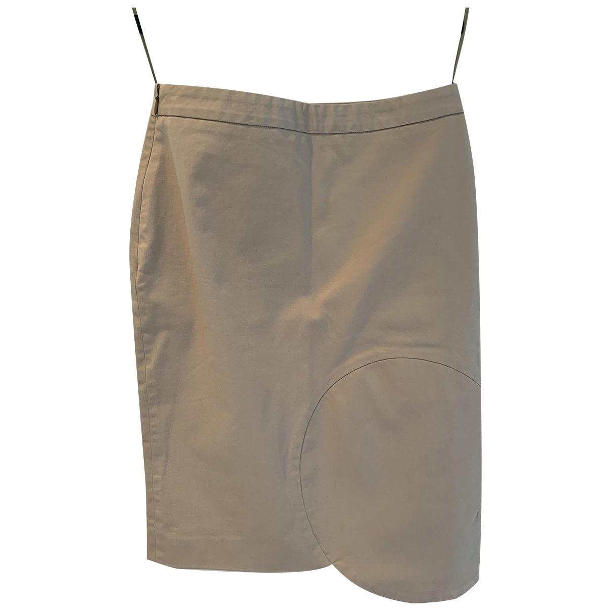 Givenchy - Jupe   pour femme en coton - beige