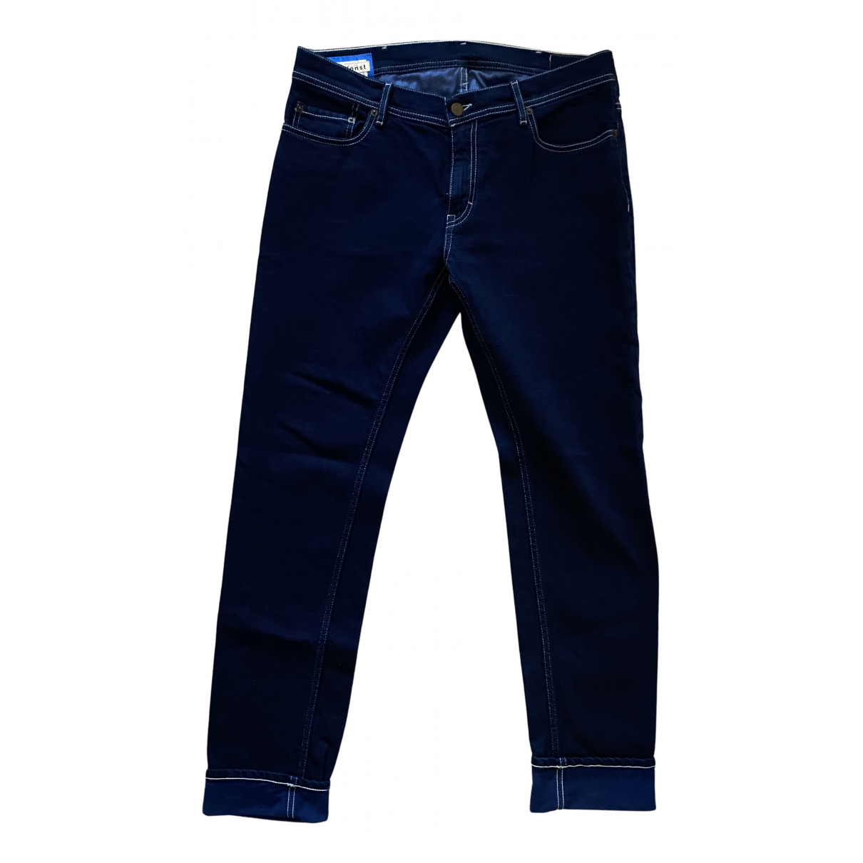Acne Studios N Navy Cotton Jeans for Men 32 US