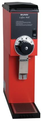 22100.0001 G3 HD Red 3 lbs. Bulk Coffee Grinder with Single Hopper  Fast Grinding  in