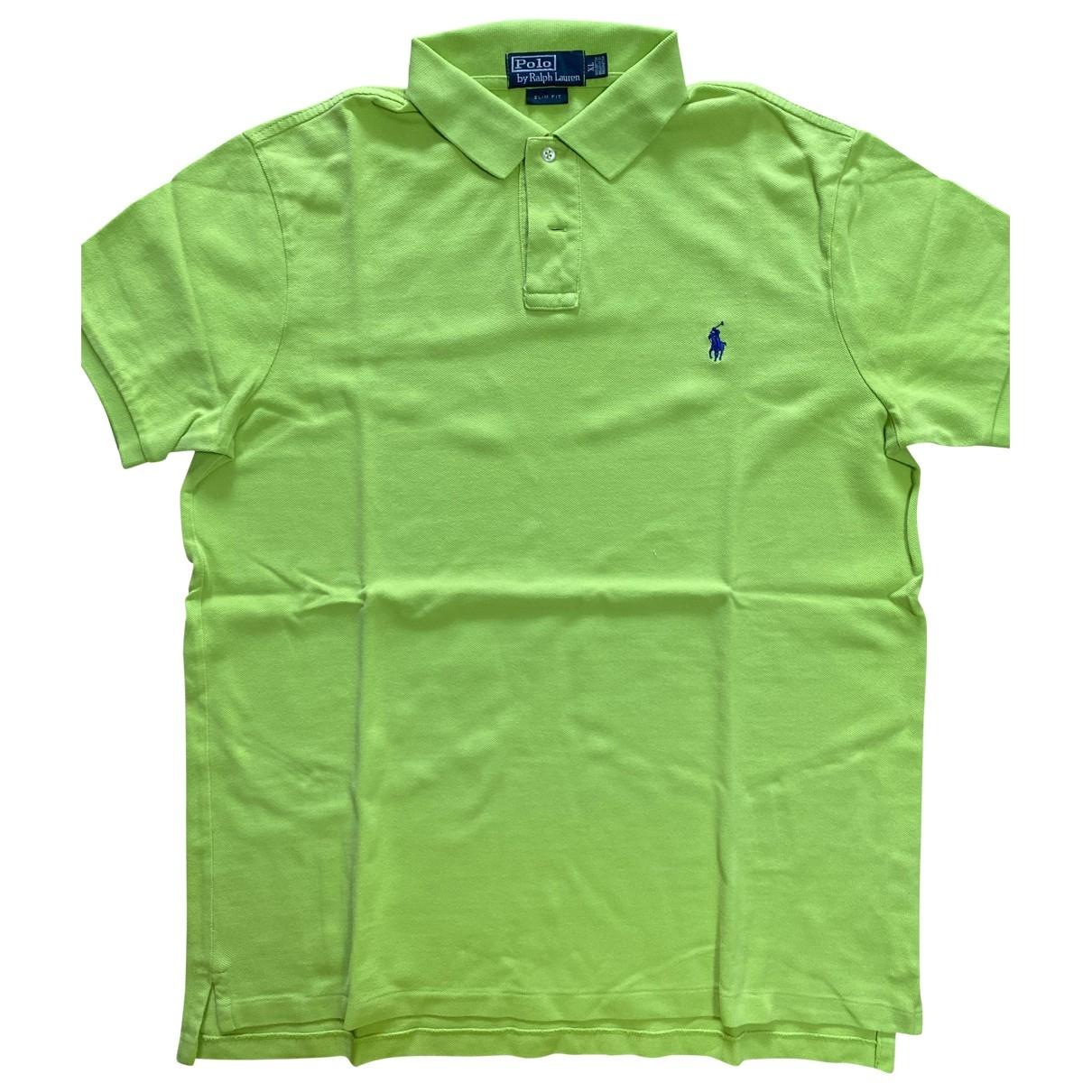 Polo Ralph Lauren - Polos Polo classique manches courtes pour homme en coton - vert