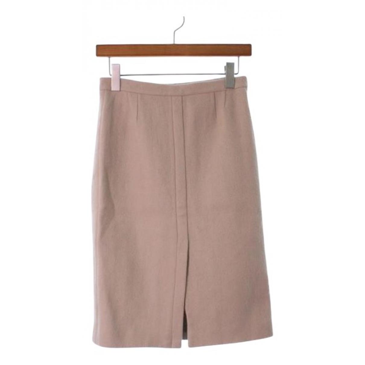 Maison Martin Margiela N Beige Wool skirt for Women 40 IT